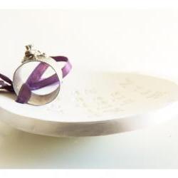 Pearl Cute ring bearer bowl - Mr Y makes Miss X his Mrs Y.
